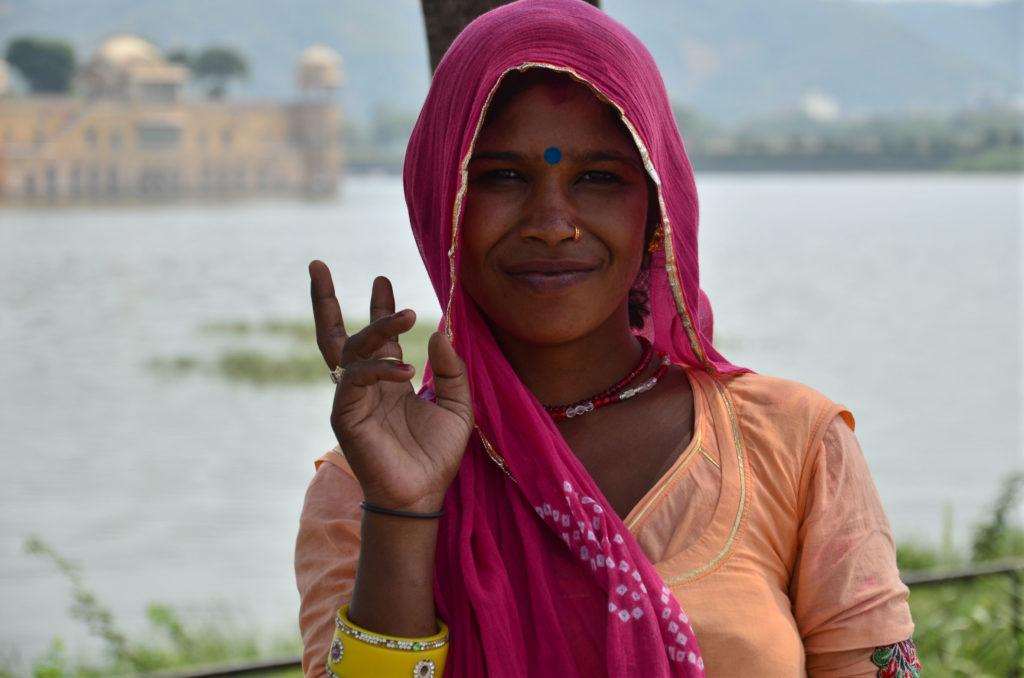 Retratos de la India. © María A.Cañete